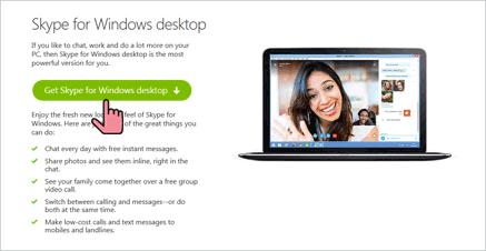 Preuzimanje Skype-a